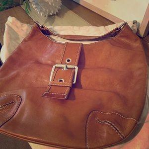 Michael Kors Leather Buckle Bag